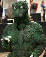 Godzilla Homemade Costume