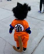 Goku from Dragon Ball Z Homemade Costume