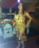 Gold Digger Homemade Costume