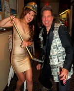 Coolest couples Halloween costumes - Gold Digger and Sugar Daddy Costume