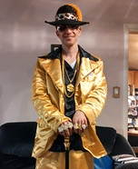 Gold Pimp Suit Costume