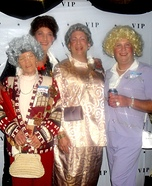 The Golden Girls Homemade Costume