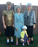 Golden Girls Family Homemade Costume