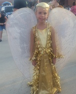 Golden Phoenix Homemade Costume