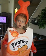 Goldfish Piranha Costume