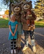 Goldilocks and the Three Bears Homemade Costume