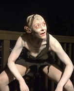 Gollum Homemade Costume