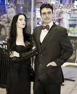 Gomez & Morticia Homemade Costume