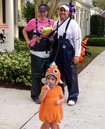 Gone Fishing Family Costume
