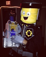 Good Cop / Bad Cop Lego Homemade Costume