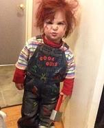 Good Guy Chucky Homemade Costume