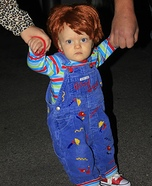 Good Guys Chucky Doll Homemade Costume