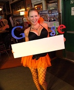 Google Girl Costume