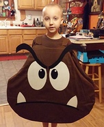 DIY Goomba Costume