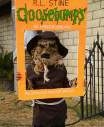Goosebump Book Homemade Costume