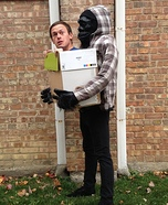 Illusion costume ideas - Gorilla Carrying Human Halloween Costume