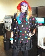 Goth-Brite Homemade Costume