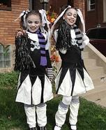 Goth Cheerleader Costumes