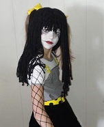 Goth Ragdoll Homemade Costume