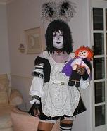 Raggedy Ann Goth Costume