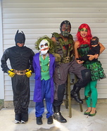 Gotham City Family Homemade Costume