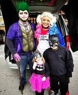 Gotham City Family Homemade Costume