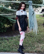 Gothic Girl Homemade Costume