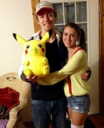 Gotta Catch 'Em All Couple Homemade Costume