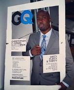 GQ Cover Homemade Costume