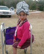 Grandma Homemade Costume