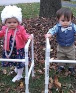 Grandma and Grandpa Homemade Costume