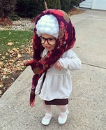Grandma Ari Homemade Costume