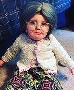 Grandma Baby Homemade Costume