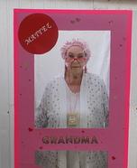 Grandma Barbie in Box Homemade Costume