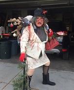 Grandma got ran over by a Reindeer Homemade Costume