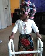 Grandma Pebbles Homemade Costume