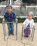 Grandpa and Grandma Homemade Costume