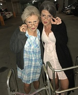 Grannies escape the Nursing Home Homemade Costume