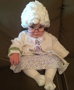 Granny B Homemade Costume