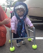 Granny G Baby Homemade Costume