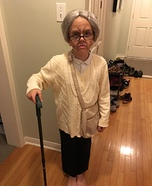 Granny Girl Homemade Costume