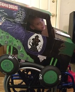Grave Digger Homemade Costume