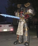 Gray Knight Space Marine Homemade Costume