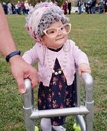 Great Granny Olivia Homemade Costume