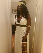 Greek Goddess Queen Homemade Costume