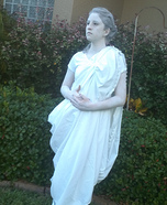 Greek Goddess Statue Homemade Costume