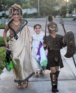 Greek Gods & Villains Homemade Costume