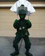 Green Army Man Homemade Costume