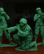 Green Army Men Homemade Costume
