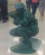 Green Army Toy Soldier Homemade Costume